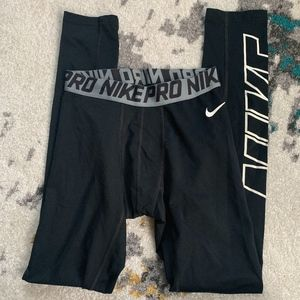 Boys Nike Pro Training Tights Pants XL
